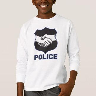 Police Hand Shake T-Shirt