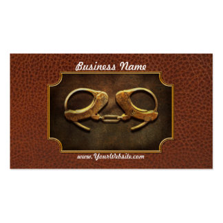 Police - Handcuffs aren't always a bad thing Double-Sided Standard Business Cards (Pack Of 100)