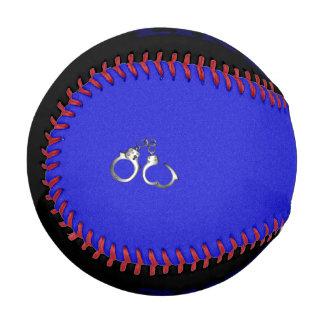 Police Handcuffs Thin Blue Line Baseball