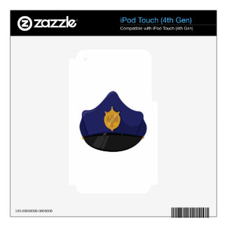 Police Hat iPod Touch 4G Decal