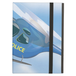 Police Helicopter Cover For iPad Air