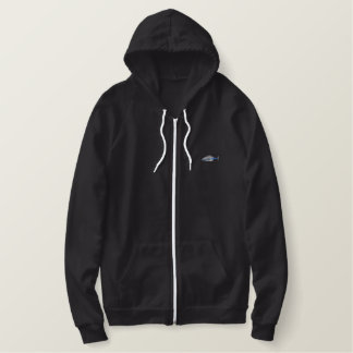 Police Helicopter Embroidered Hoodie