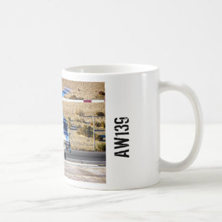 Police Helicopter Classic White Coffee Mug