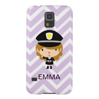 Police Highway Patrol or Traffic Controller Galaxy S5 Cover
