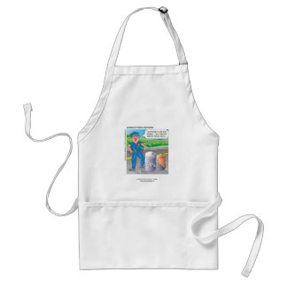 Police Humor Assault & Battery Funny Apron