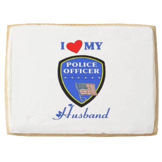 Police Husband Jumbo Cookie