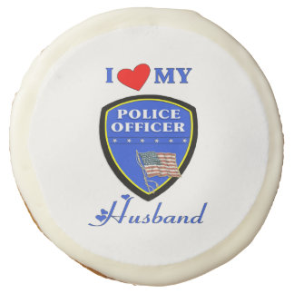 Police Husband Sugar Cookie