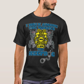 Police I Am the Sheepdog T-Shirt