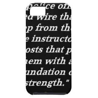 Police Instructor Quote iPhone 5 Case