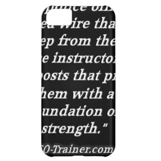 Police Instructor Quote iPhone 5C Cases