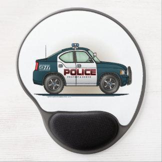 Police Interceptor Car Cop Car Gel Mouse Pad