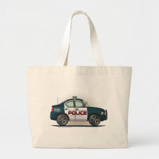 Police Interceptor Car Cop Car Tote Bag
