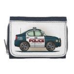 Police Interceptor Car Cop Car Wallet