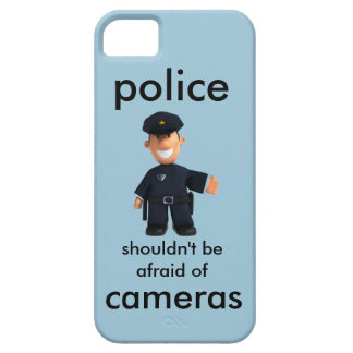police iPhone SE/5/5s case