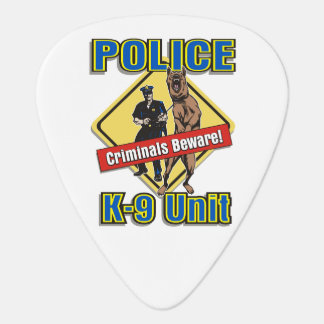 Police K9 Criminals Beware Pick