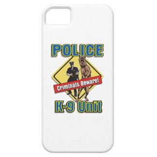 Police K9 Criminals Beware iPhone SE/5/5s Case
