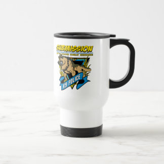 Police K9 Submission 15 Oz Stainless Steel Travel Mug