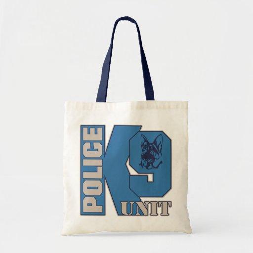 Police K9 Unit Dog Budget Tote Bag