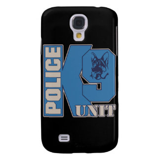 Police K9 Unit Dog Galaxy S4 Cover