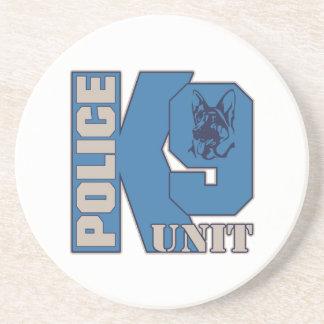 Police K9 Unit Dog Sandstone Coaster