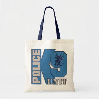 Police K9 Unit Dog Tote Bag