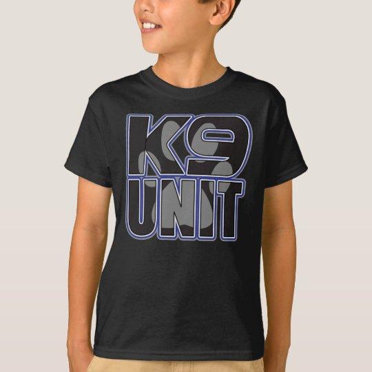 Police K9 Unit Paw Print T-Shirt