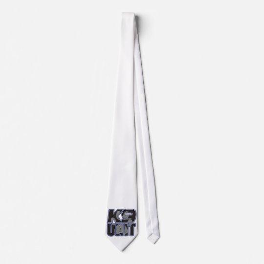 Police K9 Unit Paw Print Tie