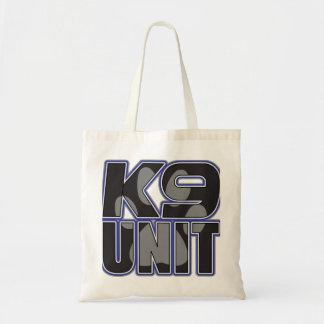 Police K9 Unit Paw Print Tote Bag
