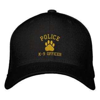 POLICE, K-9 Officer Embroidered Baseball Caps