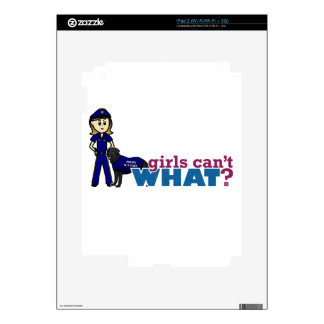 Police K-9 Officer Decals For The iPad 2