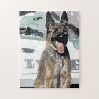police K-9 Puzzle