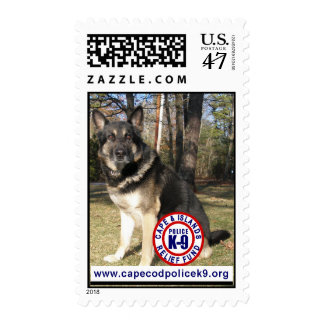 Police K-9 Relief Fund Postage