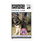 Police K-9 Relief Fund Postage Stamp