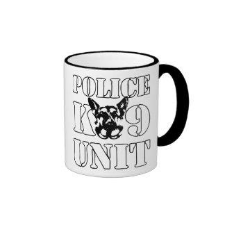 Police K-9 Unit Ringer Coffee Mug