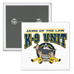 Police K-9 Unit Pinback Buttons