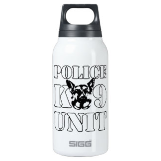 Police K-9 Unit 10 Oz Insulated SIGG Thermos Water Bottle