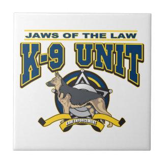 Police K-9 Unit Tile