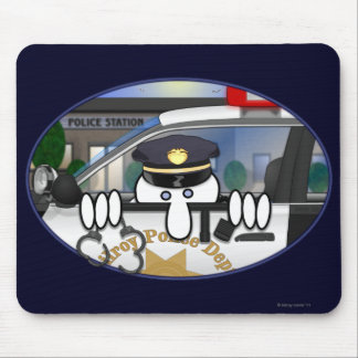 Police Kilroy Mousepad