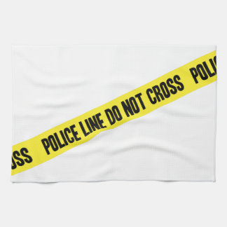 Police Line DO NOT CROSS Kitchen Towel