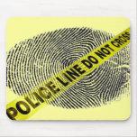 police line mousepad