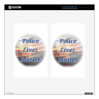 Police_Lives_Matter2 Kindle Fire Decals