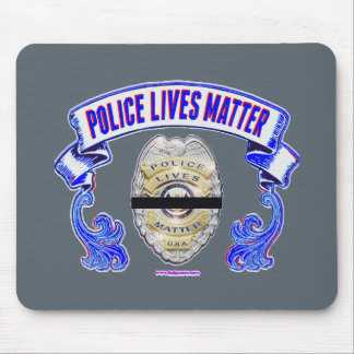 Police_Lives_Matter2 Mouse Pad