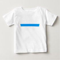 Police Lives Matter Blue Metallic Graphic Police T Baby T-Shirt