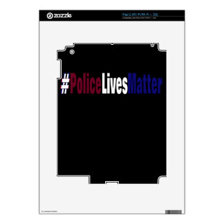 # Police lives matter Decal For iPad 2