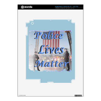 Police_Lives_Matter Decal For iPad 3