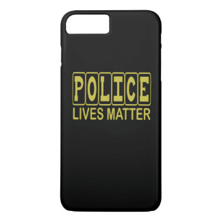 POLICE LIVES MATTER iPhone 7 PLUS CASE