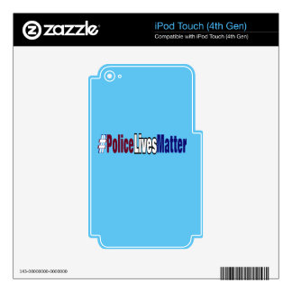 # Police lives matter iPod Touch 4G Decal