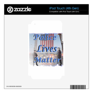 Police_Lives_Matter iPod Touch 4G Decals