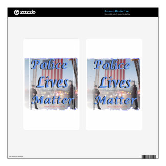 Police_Lives_Matter Kindle Fire Decals