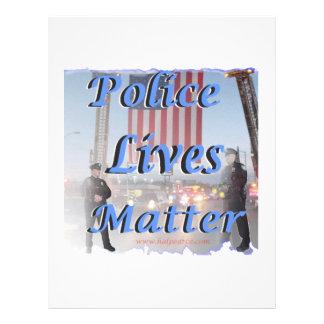 Police_Lives_Matter Plantilla De Membrete